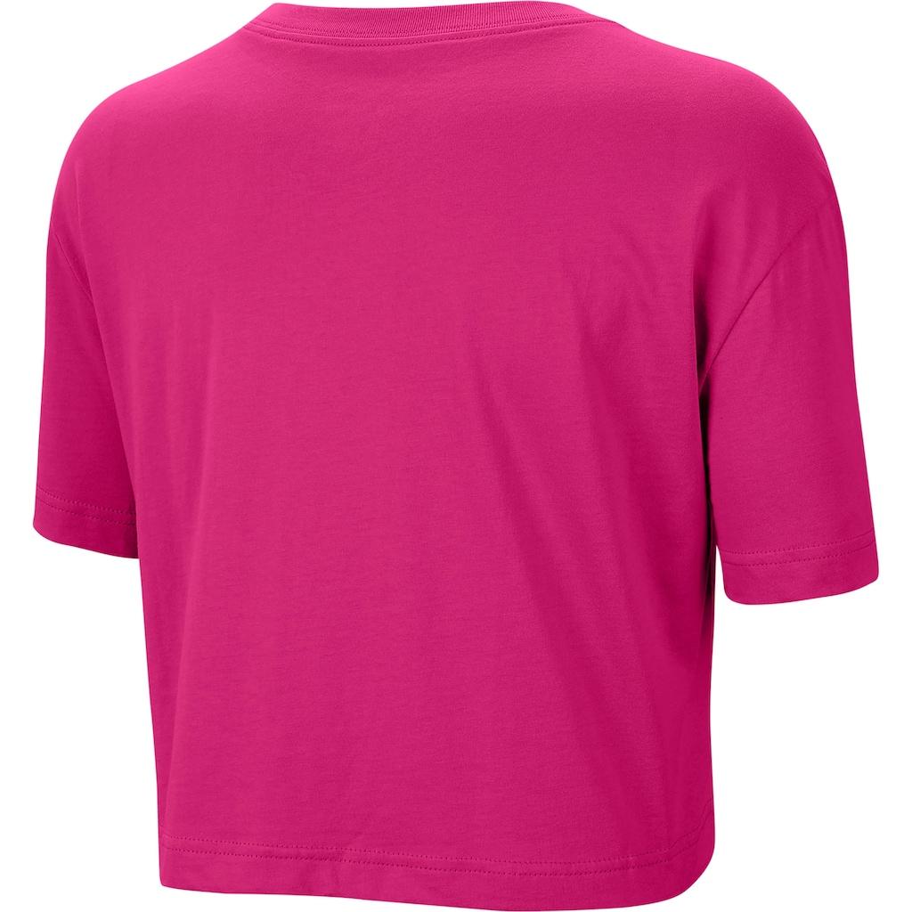 Nike Sportswear T-Shirt »W NSW TEE ESSNTL CRP ICN FTRA«
