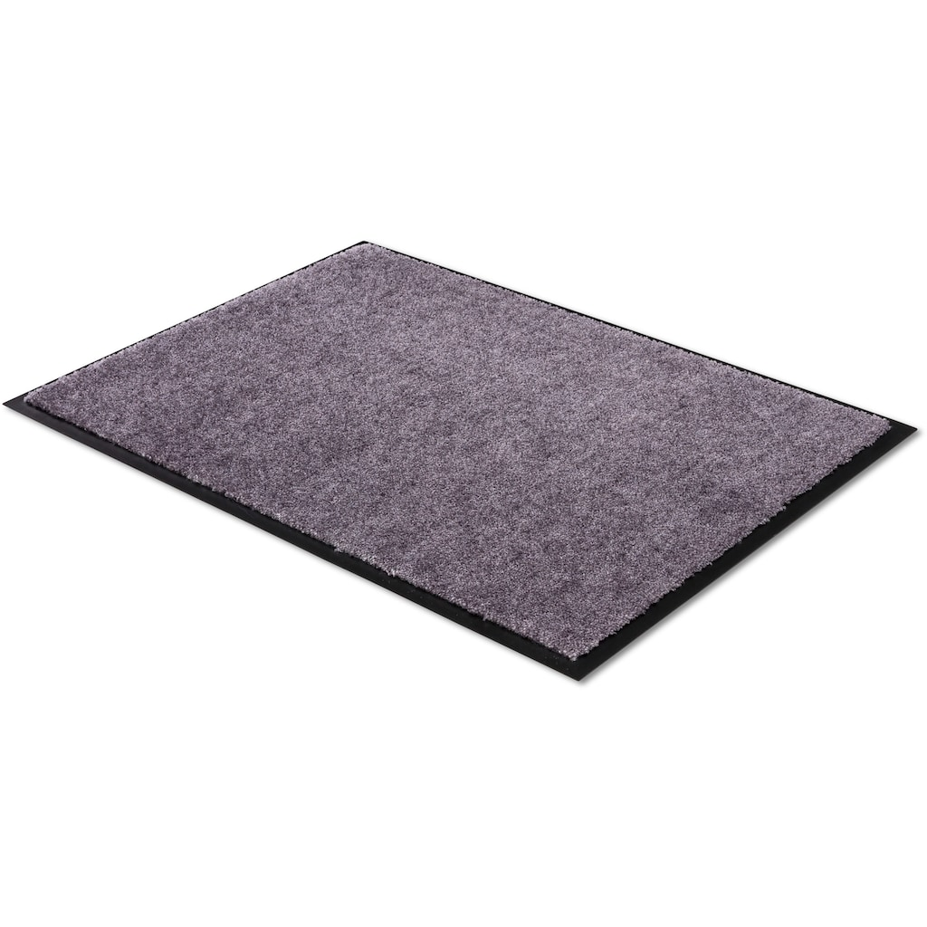 SCHÖNER WOHNEN-Kollektion Fussmatte »Miami Uni«, rechteckig, 7 mm Höhe, Schmutzfangmatte, waschbar