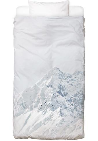 Juniqe Bettwäsche »White Mountain 2«, In vielen weiteren Designs erhältlich kaufen