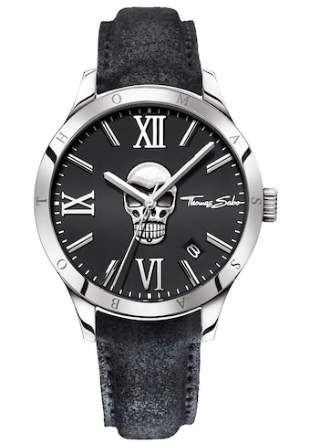 THOMAS SABO Quarzuhr »REBEL ICON, WA0210 - 218 - 203« kaufen
