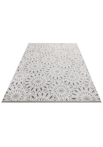 my home Teppich »Ronja«, rechteckig, 11 mm Höhe, weiche Haptik, Wohnzimmer kaufen