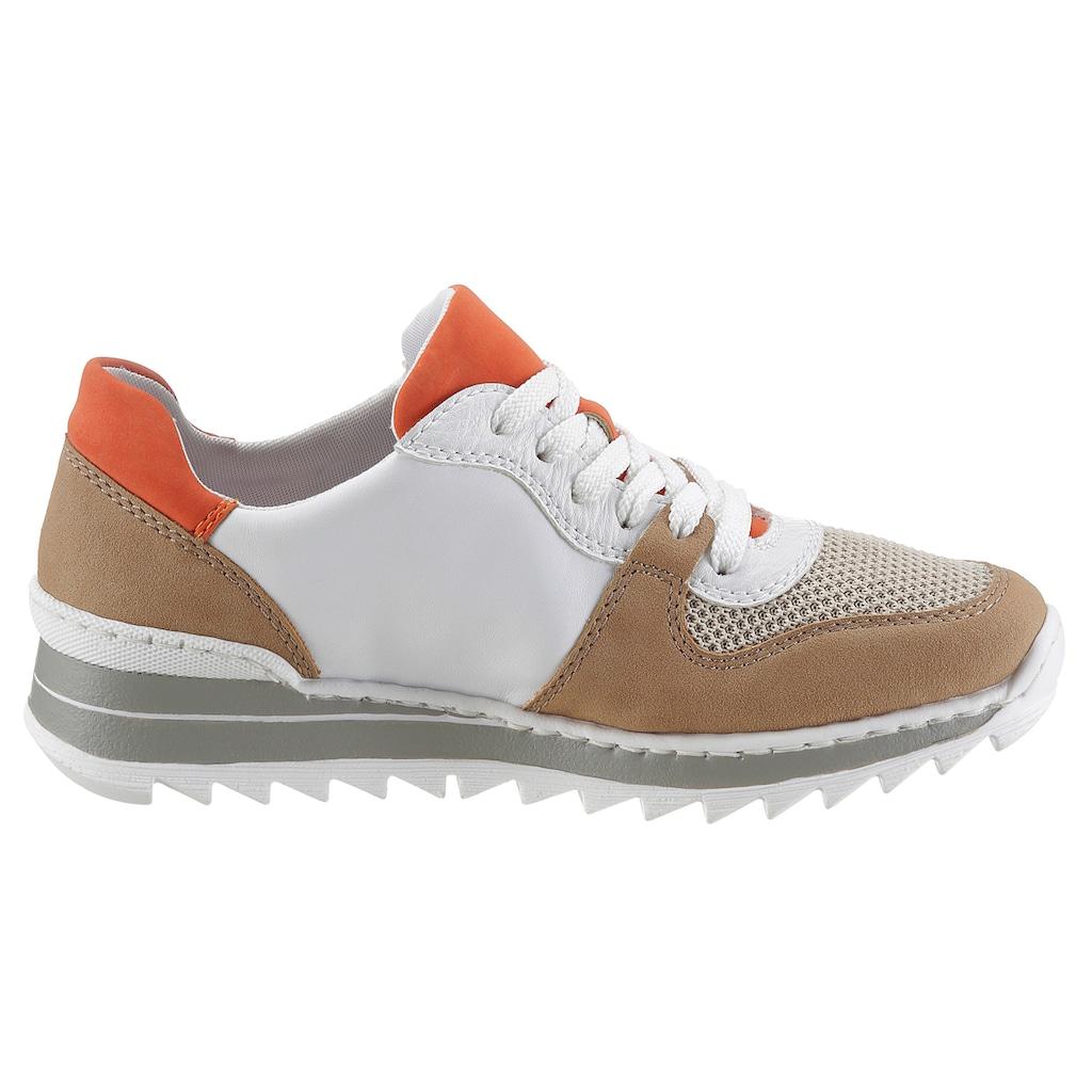 Rieker Keilsneaker, im Materialmix