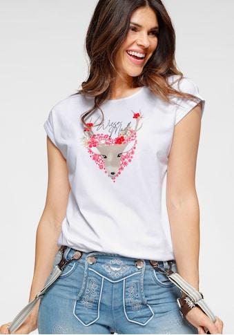 Boysen's Print-Shirt, mit Wiesn-Aufdruck kaufen