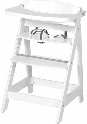 roba® Hochstuhl »Treppenhochstuhl, Sit Up Fun, weiss«, aus Holz kaufen