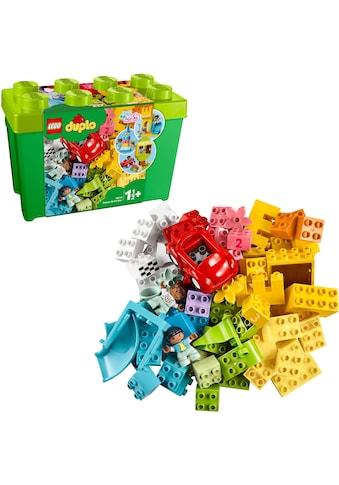 LEGO® Konstruktionsspielsteine »Deluxe Steinebox (10914), LEGO® DUPLO® Classic«, (85... kaufen