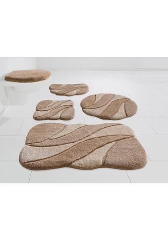 GRUND exklusiv Badematte »Colette«, Höhe 24 mm, rutschhemmend beschichtet kaufen