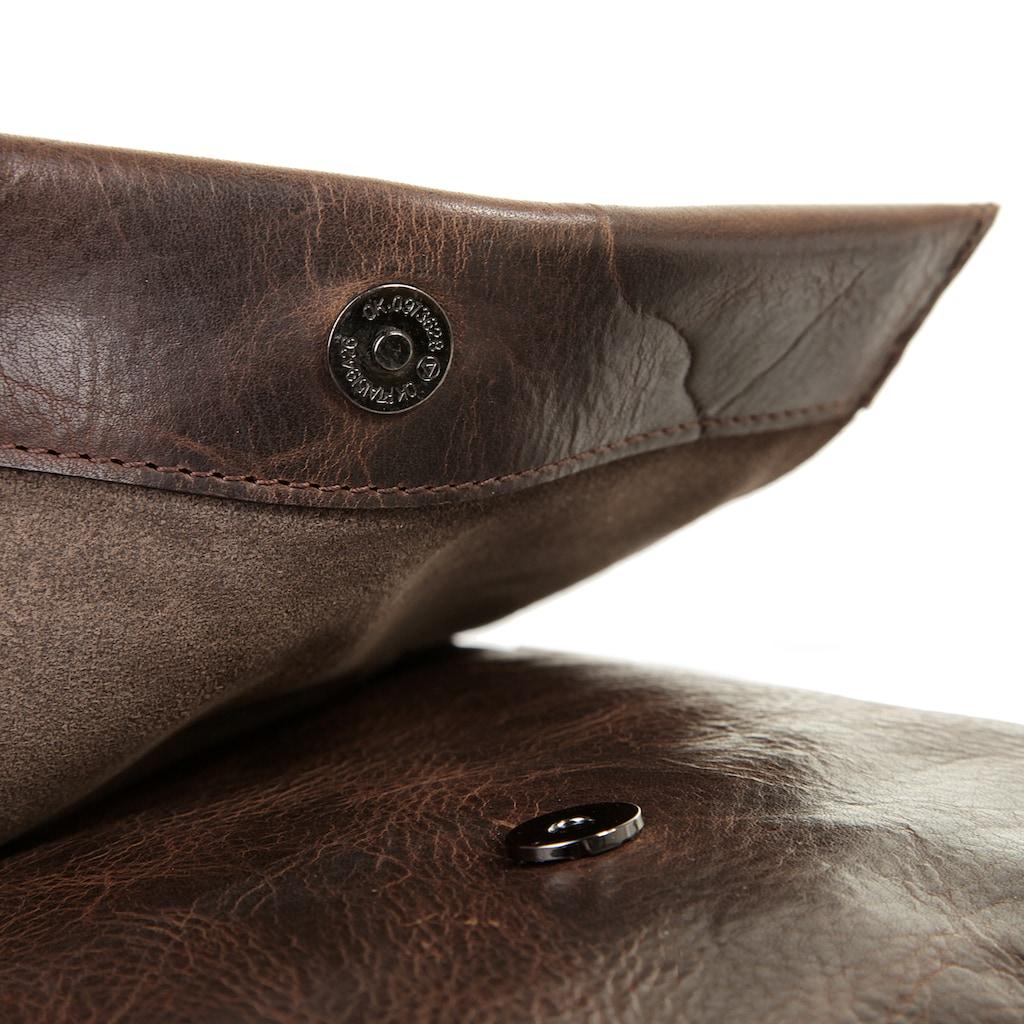 Harold's Umhängetasche »SADDLE«, vegetabil gegerbt