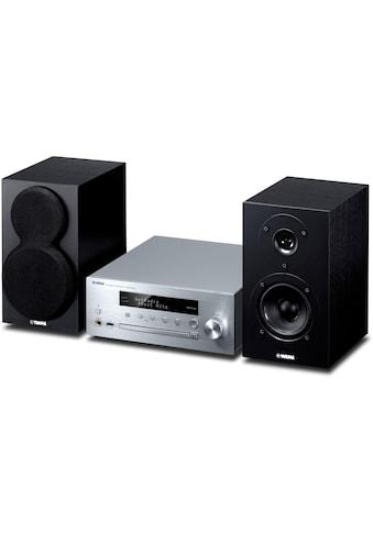 Micro - HiFi Anlage, Yamaha, »MusicCast MCR - N470 DAB Silberfarben Schwarz« kaufen