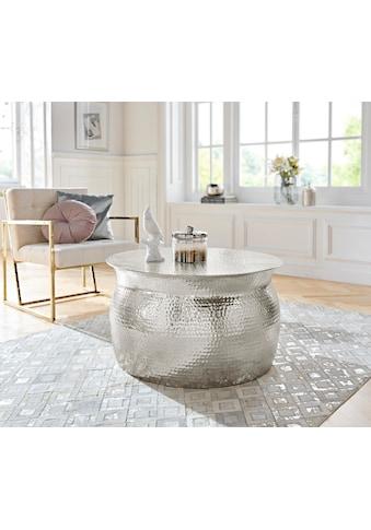 Leonique Couchtisch »Melun«, in verschiedenen Grössen erhältlich, aus Aluminium kaufen