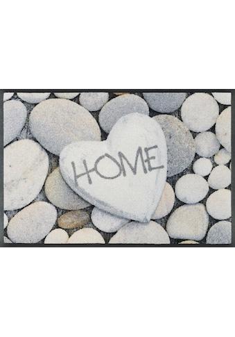 wash+dry by Kleen-Tex Fussmatte »Pebble Stones«, rechteckig, 7 mm Höhe,... kaufen