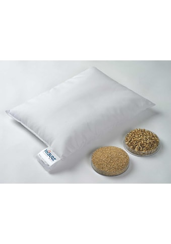 Kyburz Naturkissen »Hirsekissen, Kyburz«, Füllung: Hirsespreu, Bezug: 100% Baumwolle,... kaufen