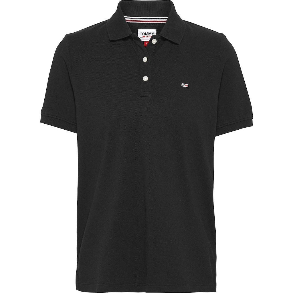 Tommy Jeans Poloshirt »TJW SLIM POLO«, mit Tommy Jeans Logo-Flag auf der Brust