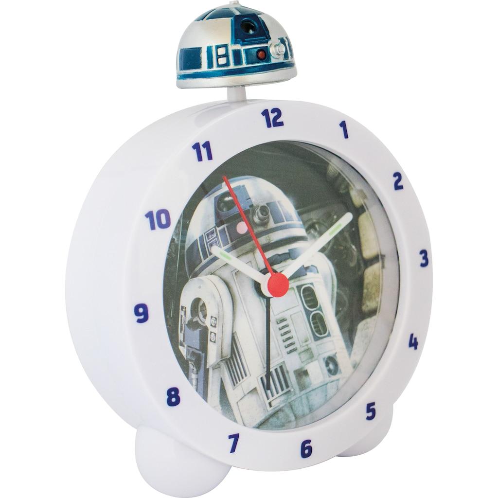 Joy Toy Kinderwecker »R2-D2 Topper Kinderwecker, 27593«, mit R2-D2 Sound und leuchtender Figur