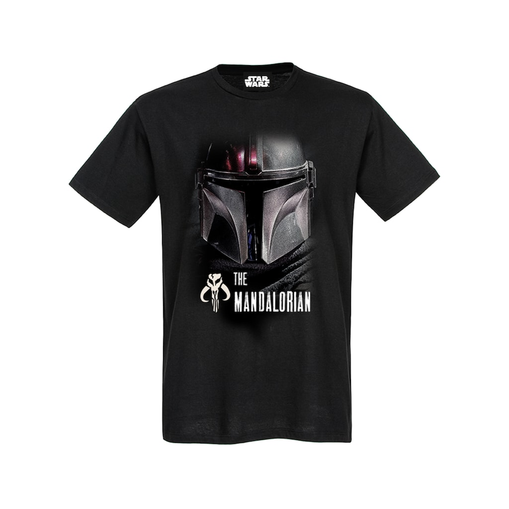 Star Wars T-Shirt »The Mandalorian The Mandalorian Dark Warrior«
