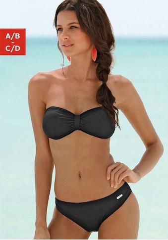 Sunseeker Bandeau-Bikini »Miami«, Im trendigen Tropical-Print kaufen