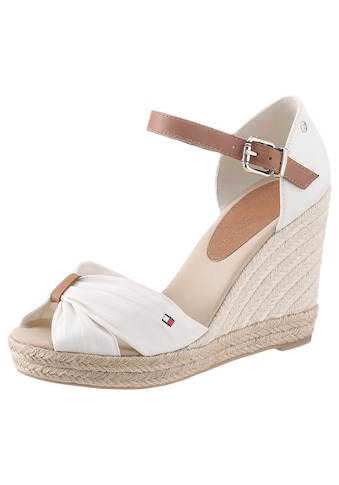 TOMMY HILFIGER High - Heel - Sandalette »BASIC OPENED TOE HIGH WEDGE« kaufen