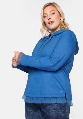 Sheego Kapuzensweatshirt kaufen