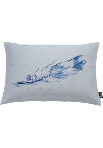 emotion textiles Kissenhülle »Tempera Feder« kaufen