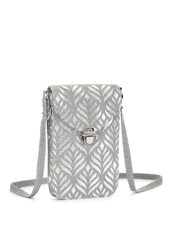 LASCANA Umhängetasche, Minibag, Handytasche zum Umhängen im Metallic und Bast Look kaufen