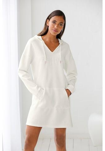 Bench. Sweatkleid, aus Piqué mit 3D-Logoschriftzug kaufen