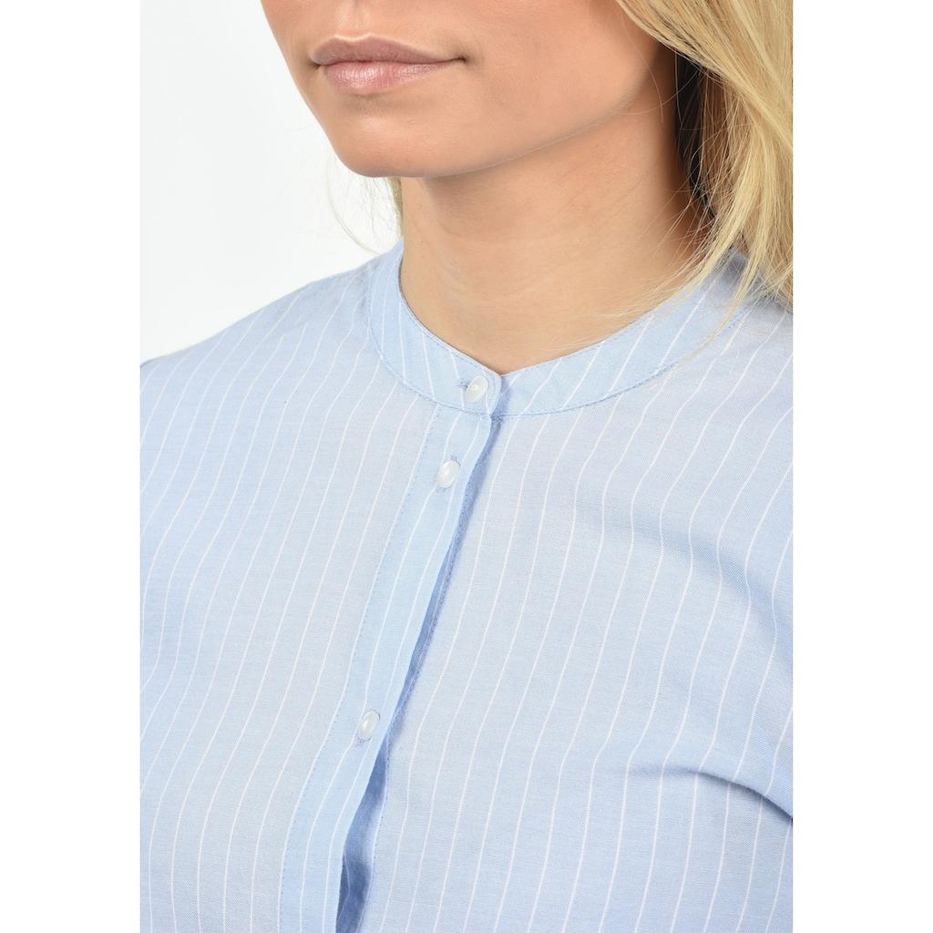 Blendshe Langarmbluse »Alexa«, Bluse mit Rundhals-Ausschnitt