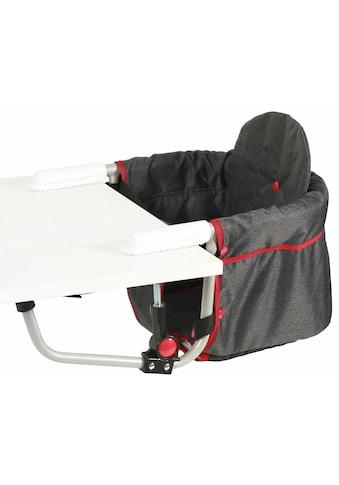 CHIC4BABY Tischsitz »Relax, jeans black«, mit universellem Befestigungssystem kaufen