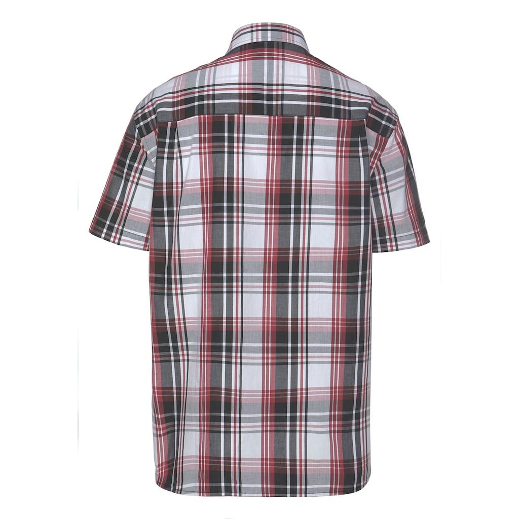 Man's World Kurzarmhemd, mit zwei Brusttaschen