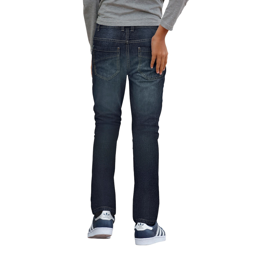 Arizona Stretch-Jeans, regular fit mit geradem Bein