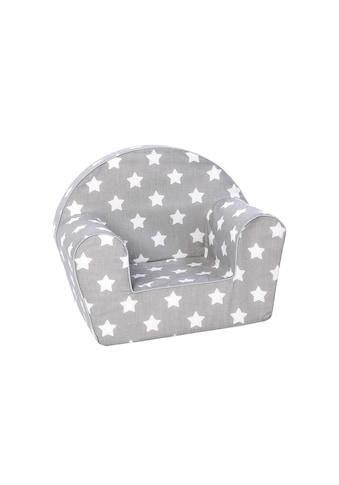 Kindersessel, KNORRTOYS.COM®, »Grau mit weissen Sternen« kaufen