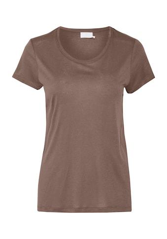 KAFFE T - Shirt »Anna Rundhals« kaufen