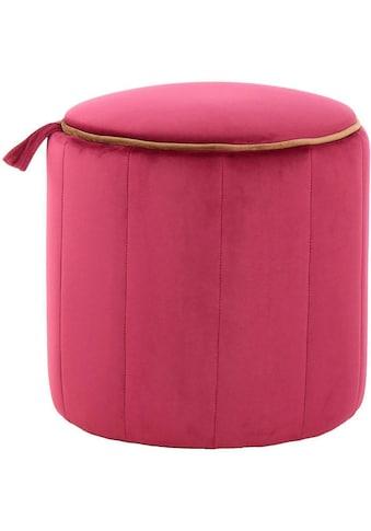 Kayoom Sitzhocker »Reese«, (1 Stück) kaufen