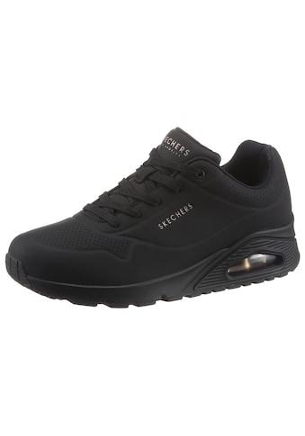 Skechers Wedgesneaker »Uno - Stand on Air«, mit feiner Perforation kaufen