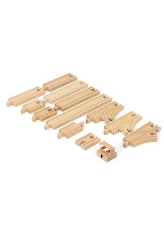 BRIO® Spielzeugeisenbahn-Schiene »Ergänzungsset Holzschienensystem, BRIO® WORLD... kaufen