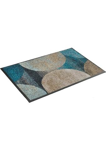 wash+dry by Kleen-Tex Fussmatte »Galaxia«, rechteckig, 7 mm Höhe, Fussabstreifer,... kaufen