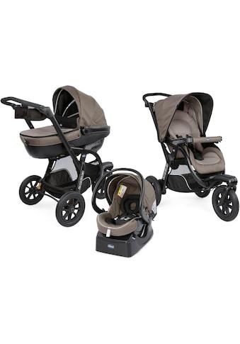Chicco Kombi-Kinderwagen »Trio-System Activ3 Top, Dark Beige«, 15 kg, mit Regenschutz;... kaufen