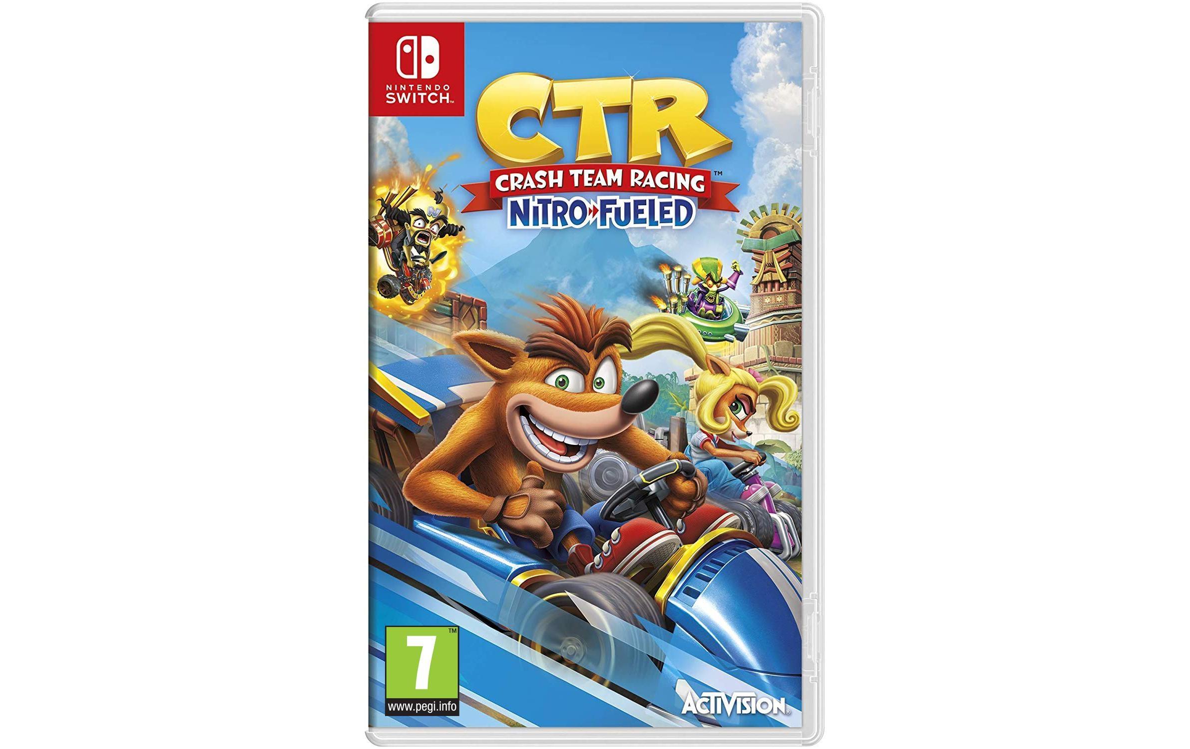 Image of Activision Spiel »Blizzard Crash Team Racing Nitro-Fueled«, Nintendo Switch, Standard Edition