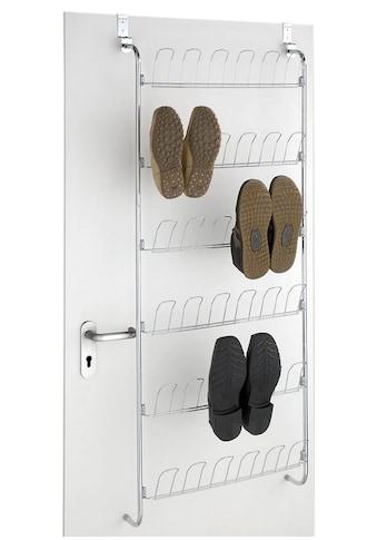 WENKO Türregal, für 18 Paar Schuhe kaufen
