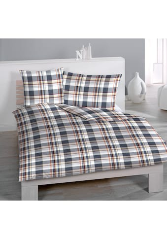 HOME FASHION Bettbezug »Gregory Check«, (1 St.), Digitaldruck kaufen