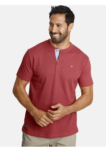 Jan Vanderstorm T-Shirt »REYK«, aus strukturiertem Material kaufen