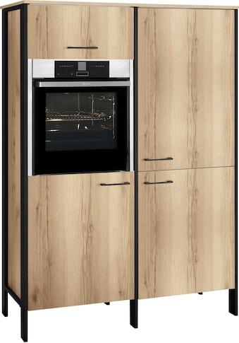 OPTIFIT Backofen/Kühlumbauschrank »Tokio«, 126 cm breit, mit Stahlgestell kaufen
