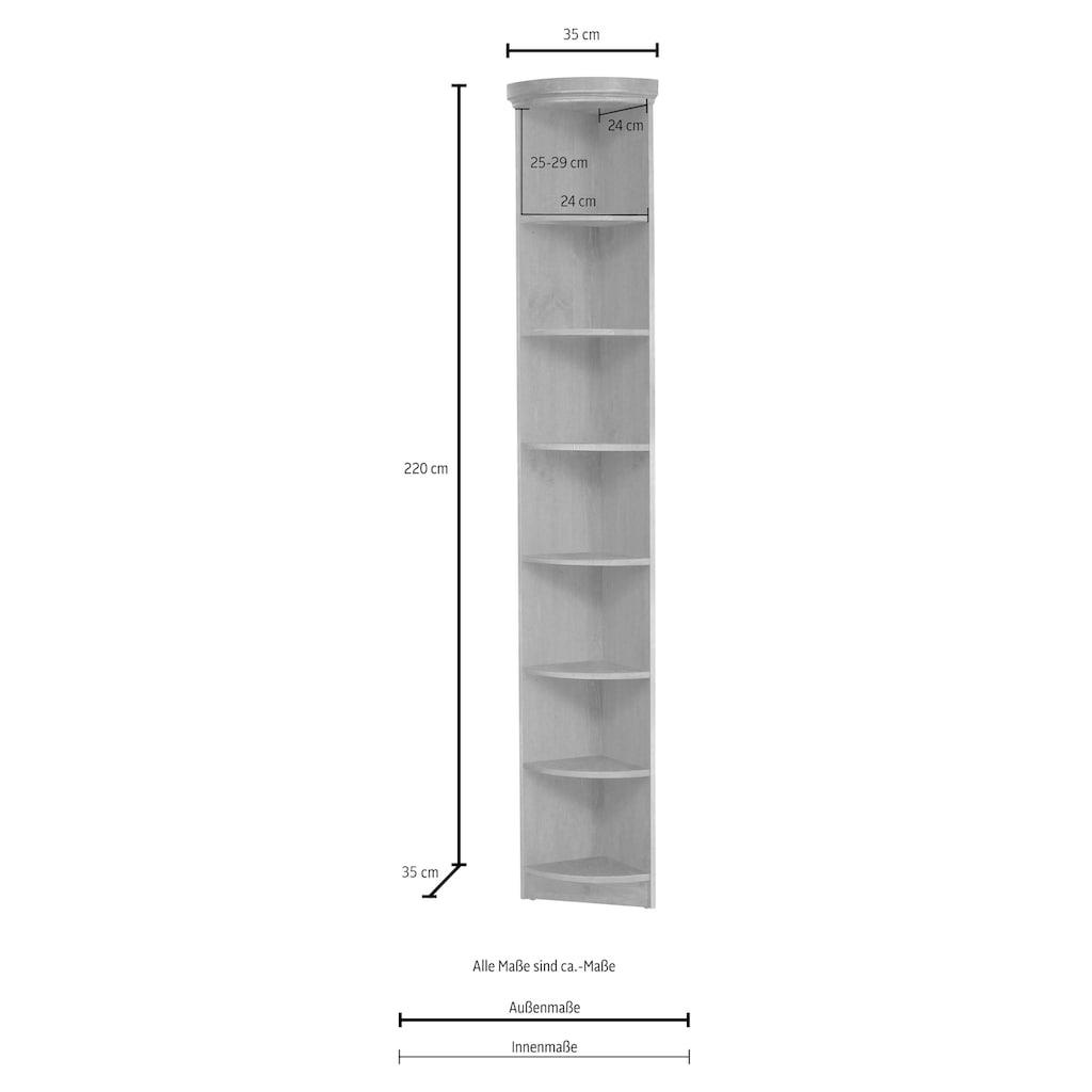 Home affaire Anbauregal »Soeren«, Höhe 220 cm, Tiefe 33 cm
