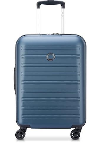 Delsey Hartschalen-Trolley »Segur, 55cm, blue«, 4 Rollen kaufen