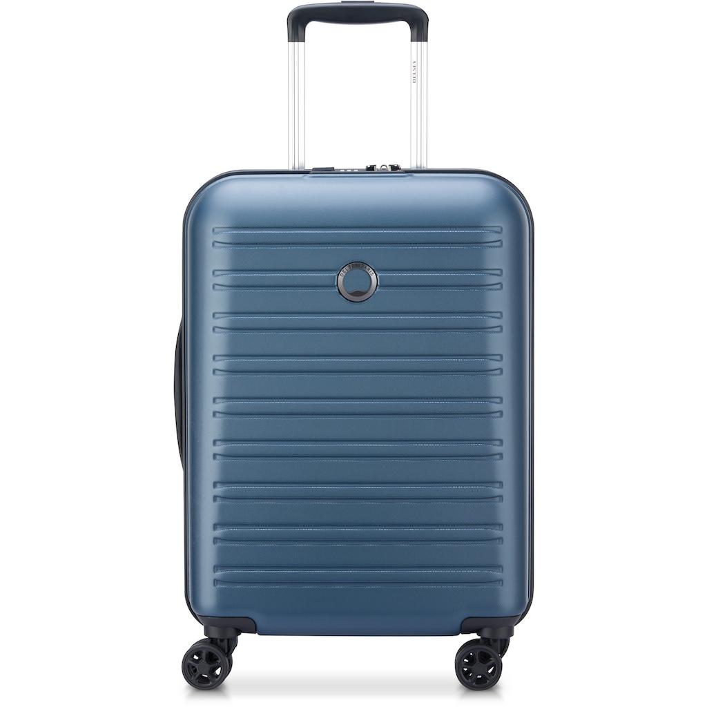 Delsey Hartschalen-Trolley »Segur, 55cm, blue«, 4 Rollen