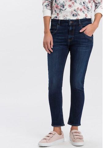 Cross Jeans® High-waist-Jeans »Tanya«, Gerade geschnittenes Bein das zum Saum schmaler... kaufen
