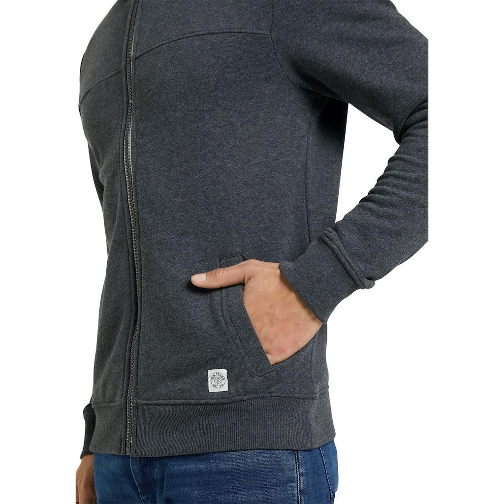 TOM TAILOR Sweatshirt, mit halswärmendem Stehkragen