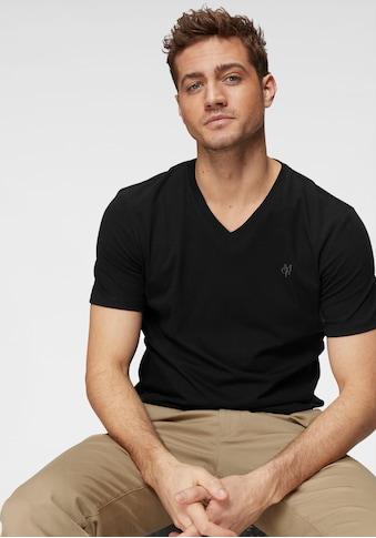 Marc O'Polo T-Shirt, ideal zum Unterziehen, V-Ausschnitt kaufen