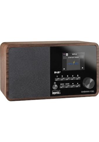 Internet Radio, Imperial, »Dabman i150 Braun« kaufen