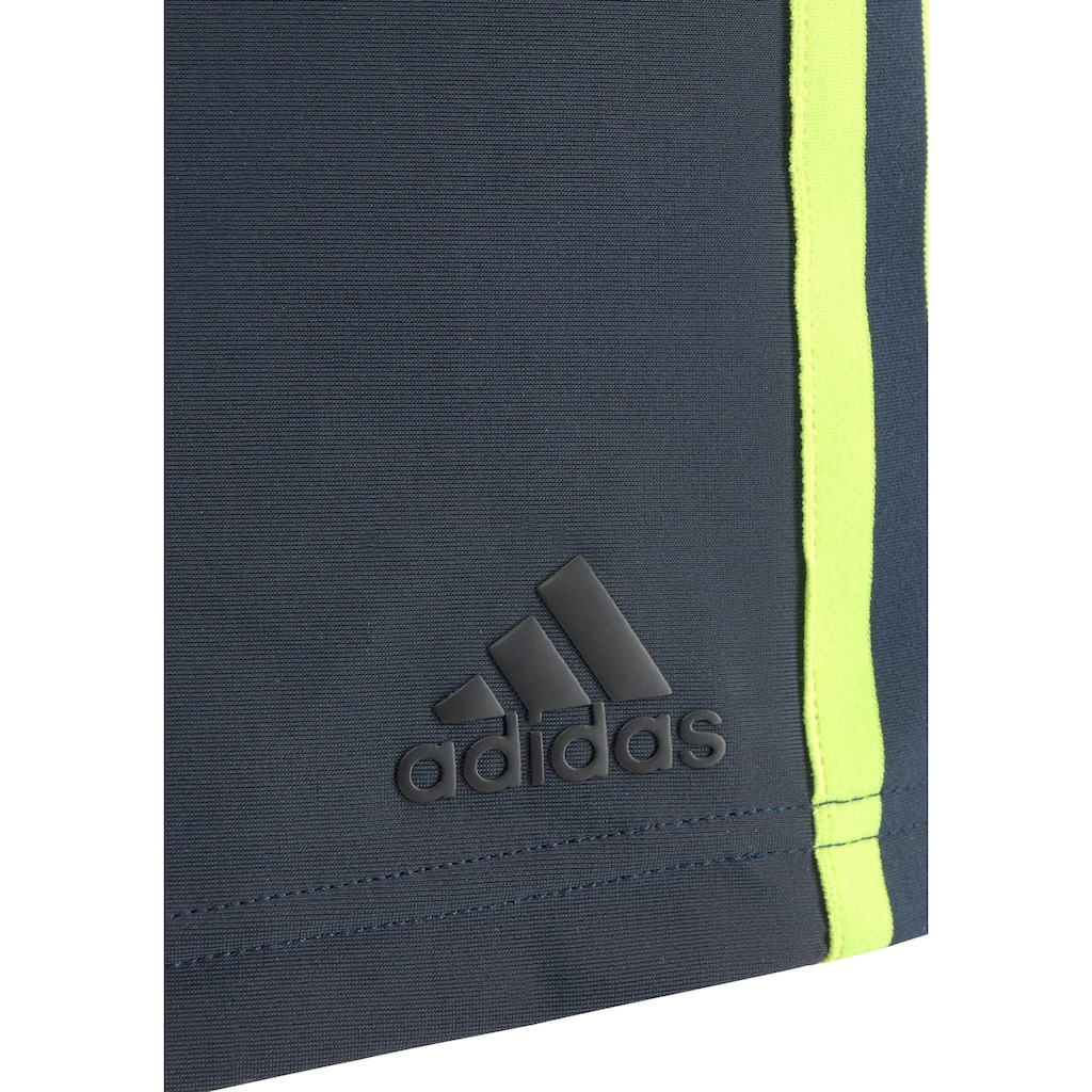 adidas Performance Boxer-Badehose, in klassischer 3-Streifen-Optik