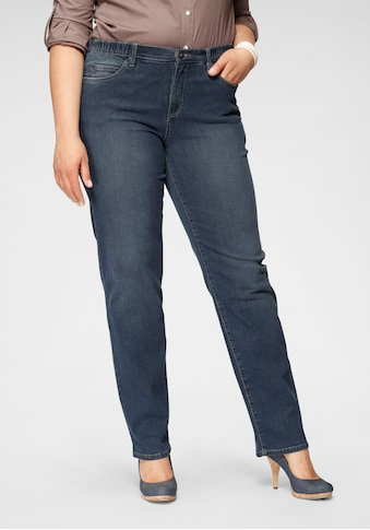 Arizona Straight-Jeans »Curve-Collection«, mit bequemen Dehnbund kaufen