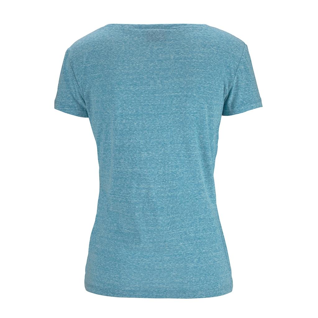 Venice Beach Strandshirt, mit Logo-Druck